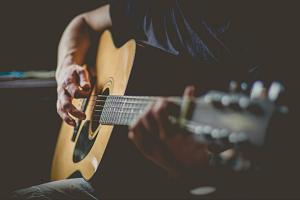 アコースティックギター画像